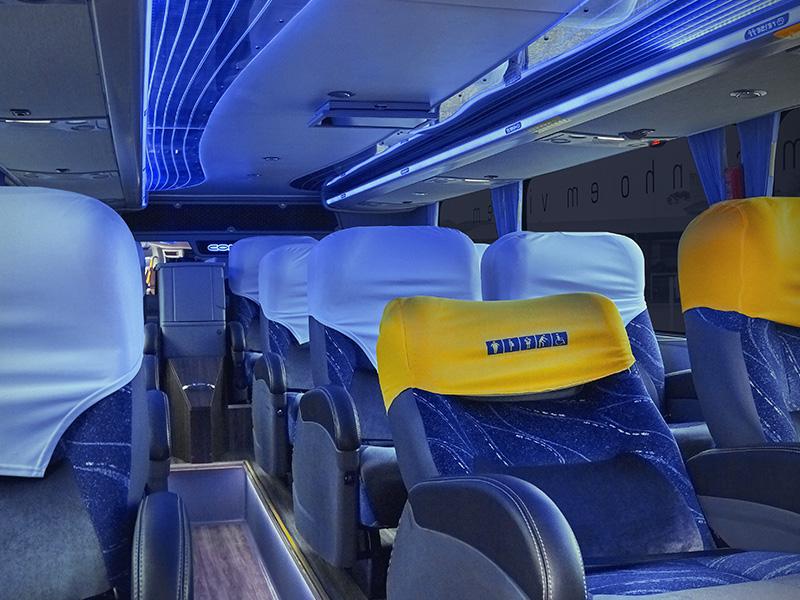 Pacote turístico - O Segredo dos Andes - Ônibus Spazzini Interno