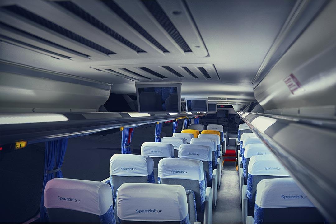 Frota Spazzinitur® Ônibus 8015