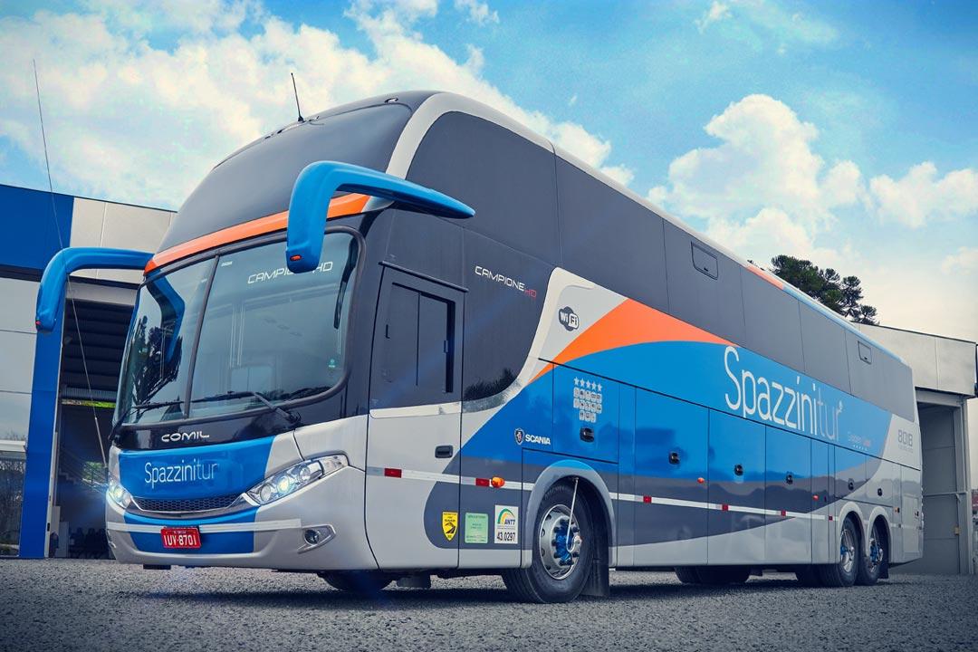 Frota Spazzinitur® Ônibus 8018