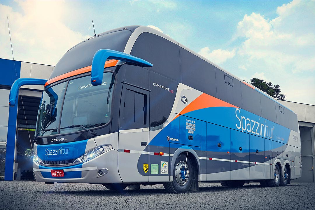 Frota Spazzinitur® Ônibus 8019