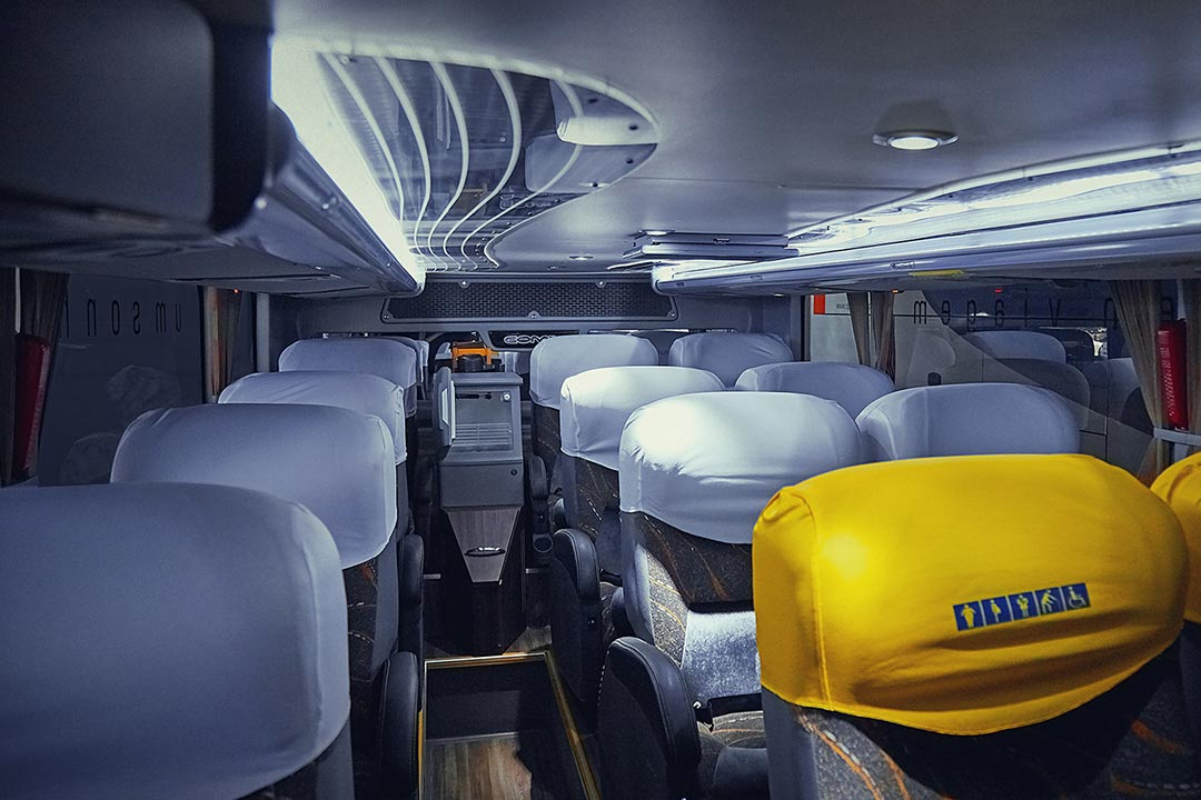 Frota Spazzinitur® Ônibus 8021