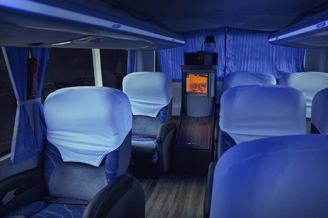 Frota Spazzinitur® Ônibus 8024