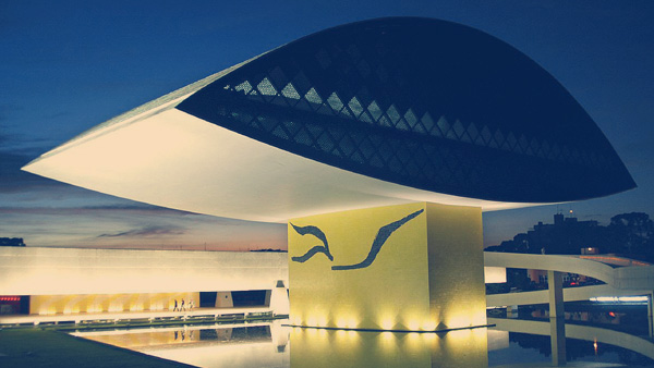 Museu Oscar Niemeyer.