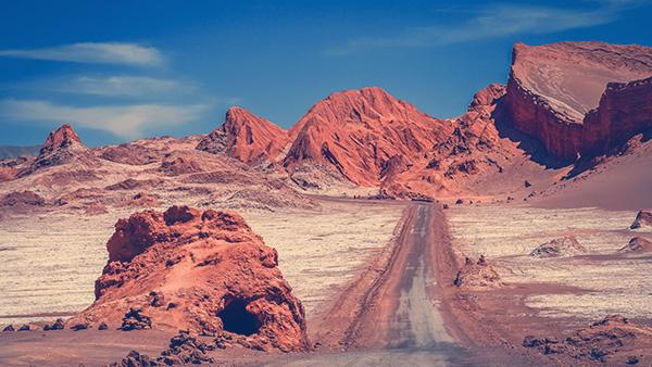 Deserto do Atacama, Chile.