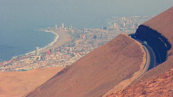 Iquique, Chile.