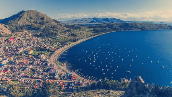 Lago Titicaca, Peru.