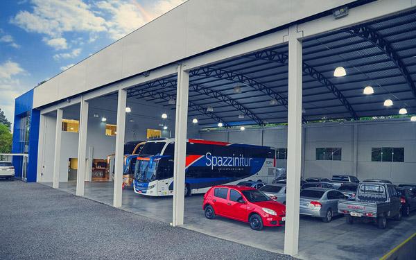 Viagens de compras | Diferenciais Spazzinitur | Estrutura