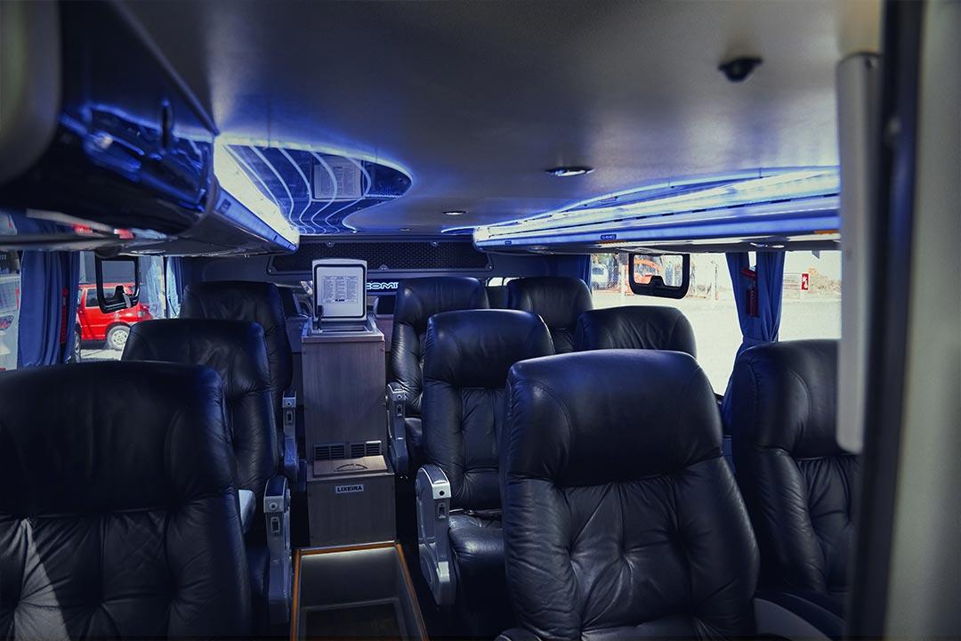 Frota Spazzinitur® Ônibus 8020