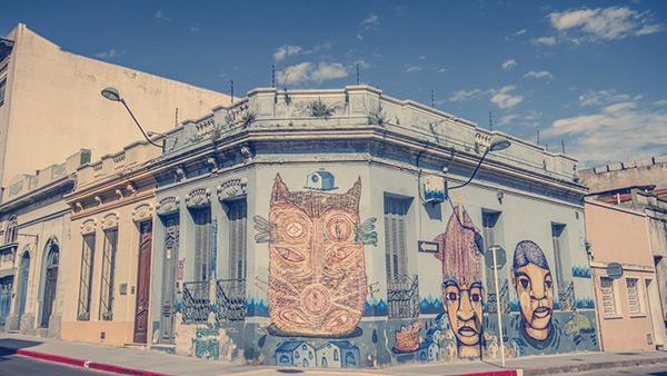 Centro histórico de Montevidéu, Uruguai.
