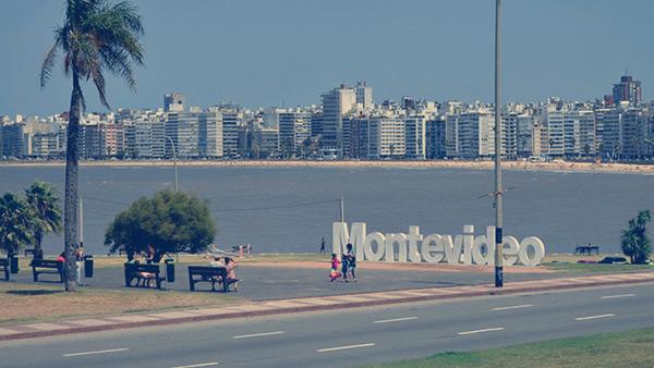 Orla de Montevidéu, Uruguai.