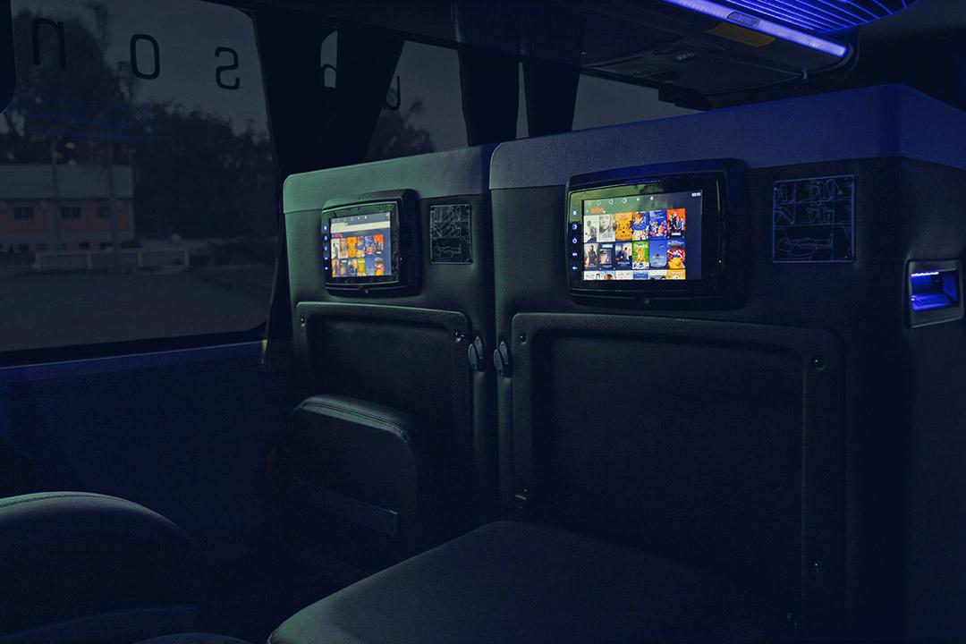 Frota - Ônibus DD 8025 - Leito cama - Spazzinitur