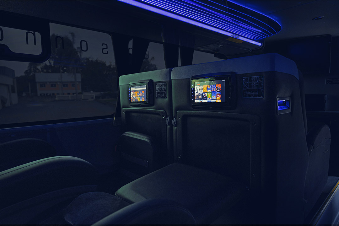 Frota - Ônibus DD 8026 - Leito cama - Spazzinitur