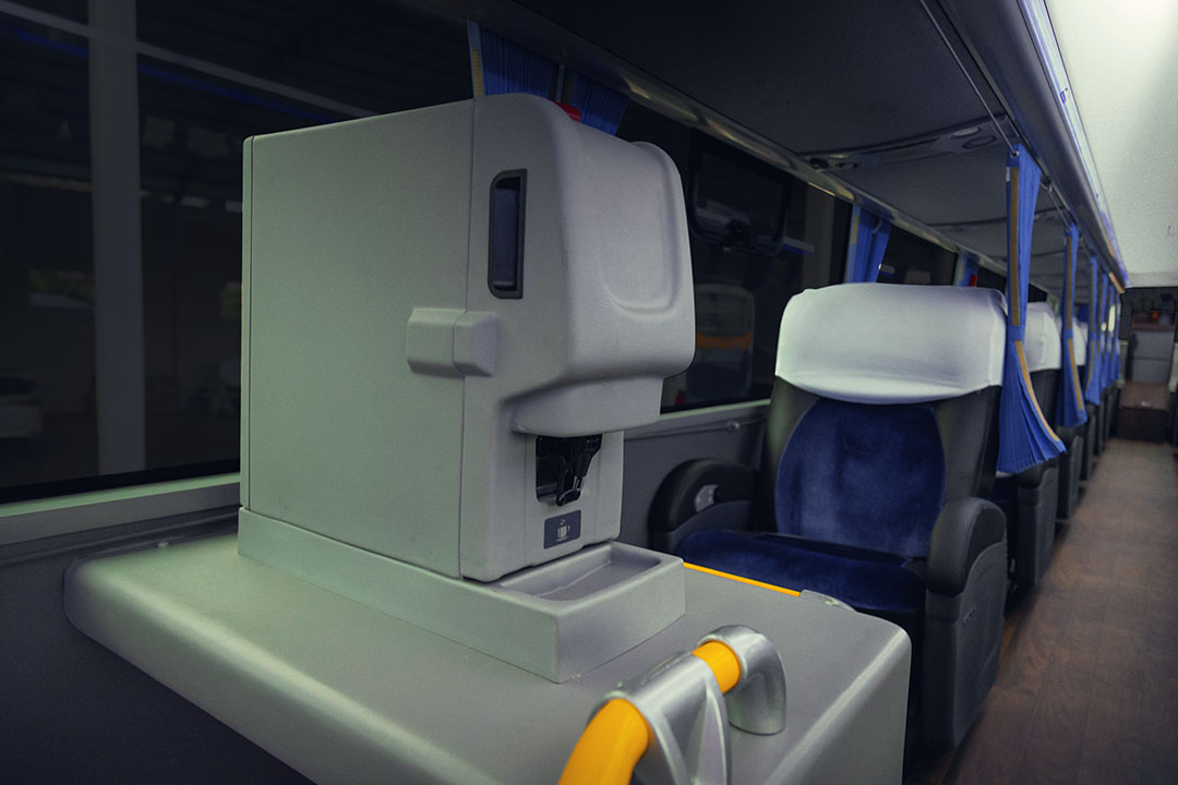 Ônibus Spazzinitur - Veículo 8027