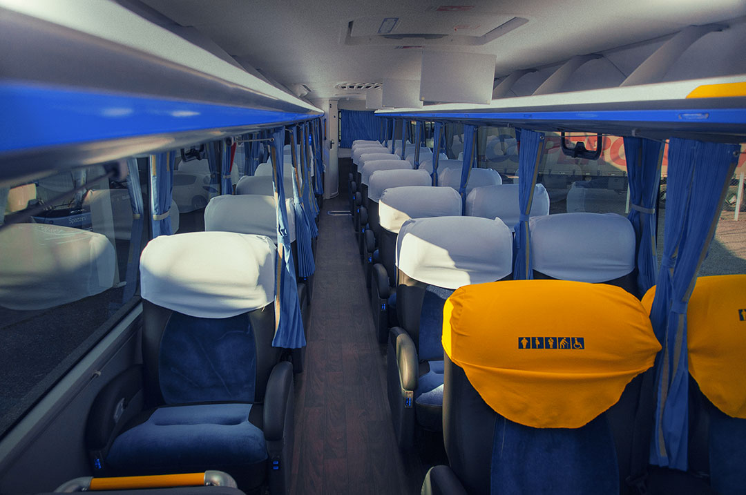Ônibus Spazzinitur - Veículo 8029
