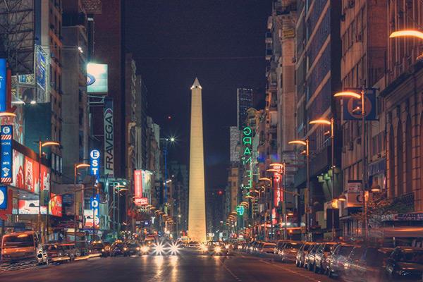 A noite de Buenos Aires