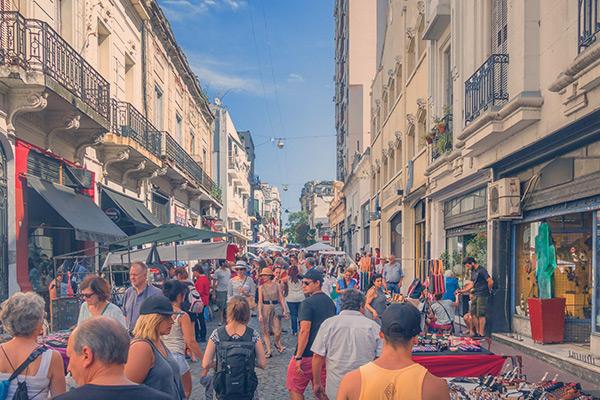 Ruas de Buenos Aires