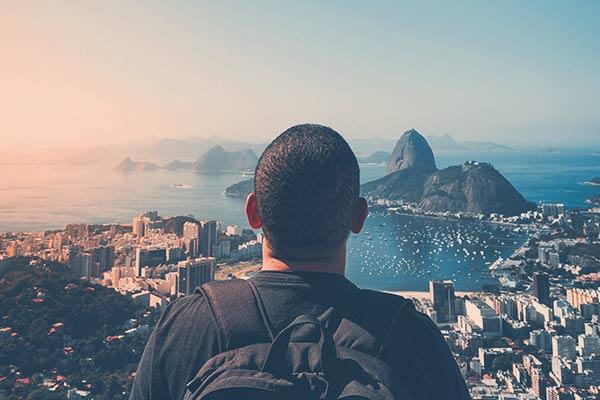 Mirante, no Rio de Janeiro