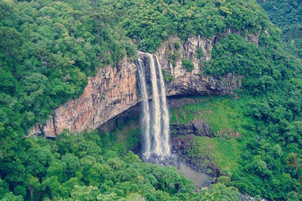 Cascata do Caracol em Gramado - Roteiro turístico Spazzinitur