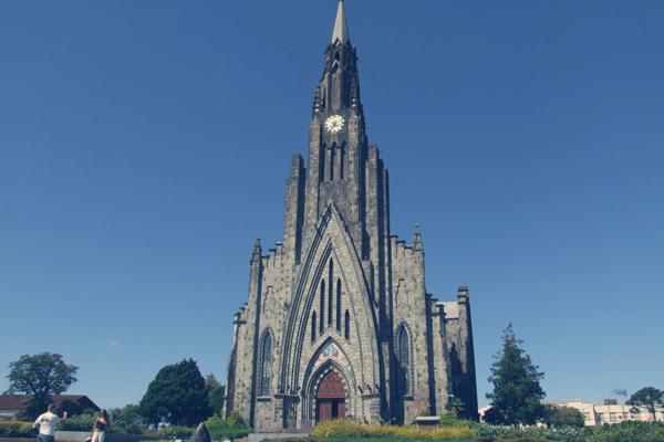 Catedral em Canela - Roteiro turístico Spazzinitur