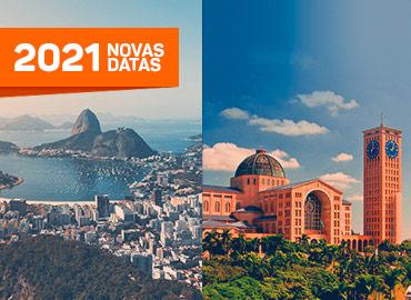 Pacotes turísticos - Rio + Aparecida - Novas datas 2021