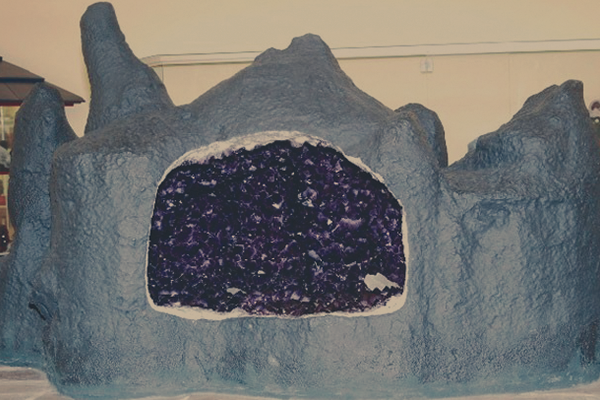 Minerais gigantes - Ametista do Sul