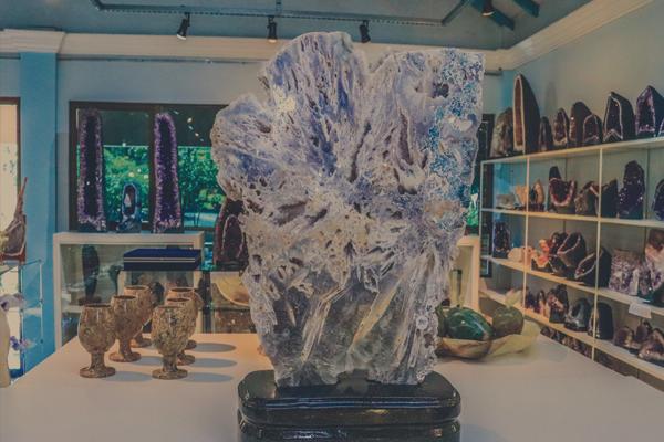 Pedras ametistas - Ametista do Sul