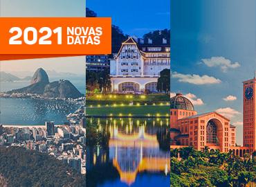 Pacotes turísticos - Rio + Petrópolis + Aparecida - Novas datas 2021