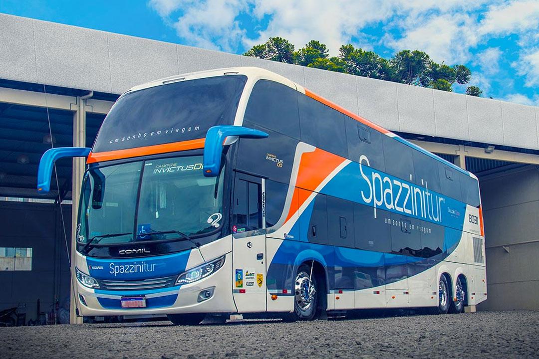 Frota de ônibus Spazzinitur - DD 8031 - Externo