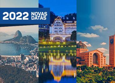 Pacotes turísticos - Rio + Petrópolis + Aparecida - Novas datas 2022