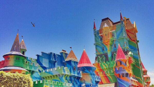 Beto Carrero World - Castelo das nações