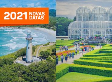 Pacotes turísticos - Curitiba e Ilha do Mel