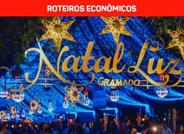 Natal Luz Gramado e Canela - Roteiros econômicos Spazzinitur